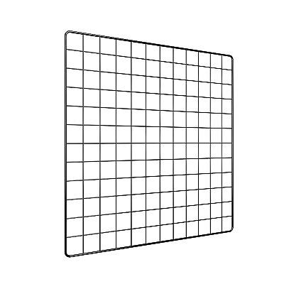 Memory Board Adoraria Aramado 60x60 Preto