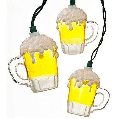 Cordão de Luz Adoraria Cerveja Amarelo