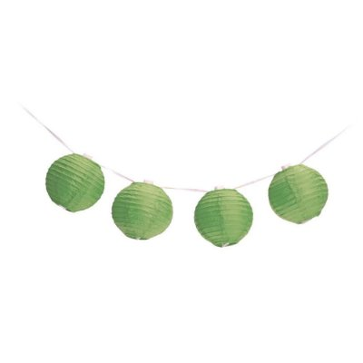 Cordão de Luz Adoraria Bola Japonesa Verde