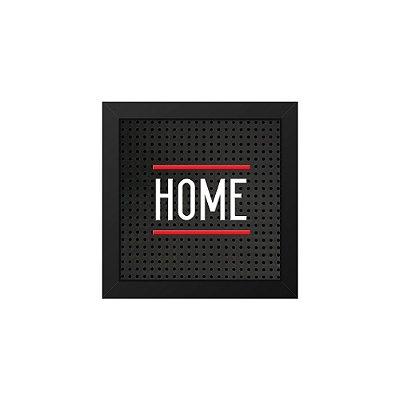 Placa de Letras Plugg Home