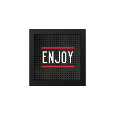 Placa de Letras Plugg Enjoy
