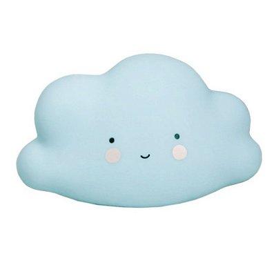 Mini Luminária Nuvem Azul