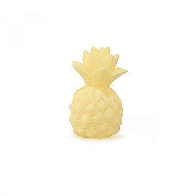 Mini Luminária Abacaxi Amarelo