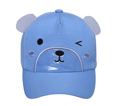 Boné Urso Azul