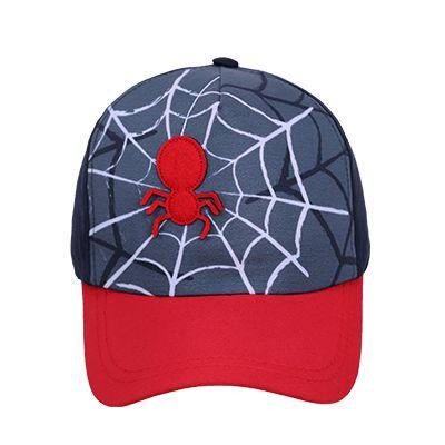 Boné com aplique aranha