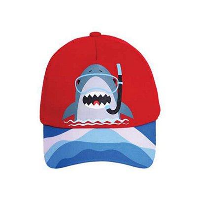 Boné baby tubarão