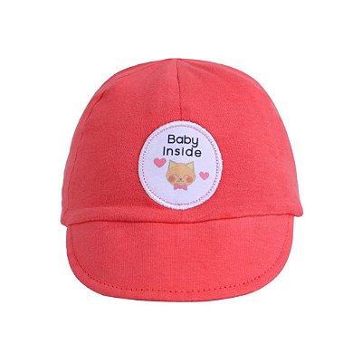 Boné RN baby inside rosa