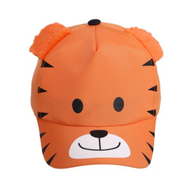 Boné bebê tigre