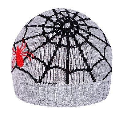 Gorro infantil teia de aranha