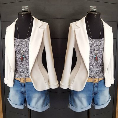 Bermuda Jeans Clara Sawary
