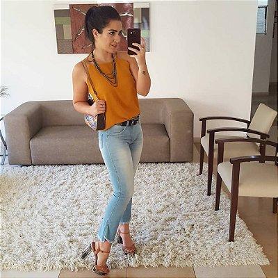 Calça Jeans Clara Curta