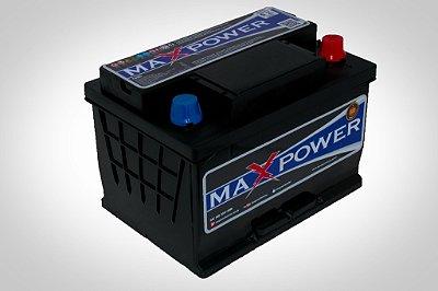 Bateria de competição MAXPOWER 60ah para som automotivo MP-600