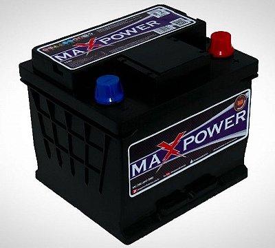 Bateria de competição MAXPOWER 45ah SPL para som automotivo MP-450