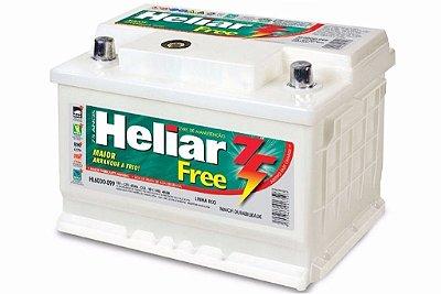 Bateria HELIAR Free com PowerFrame 60ah