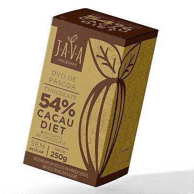 Ovo de Páscoa 54% CACAU DIET zero açúcar 250 G