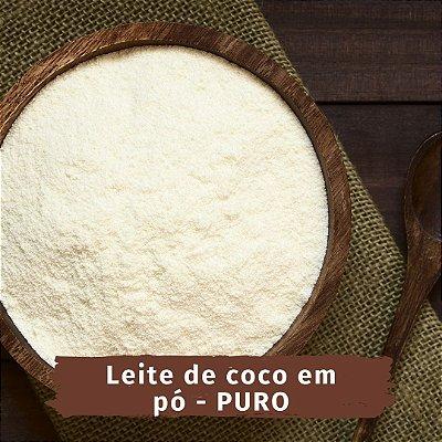 Leite de coco vegano em pó - 100 g