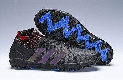 Chuteira Society Adidas Nemeziz 18+ FG (Cano Alto)