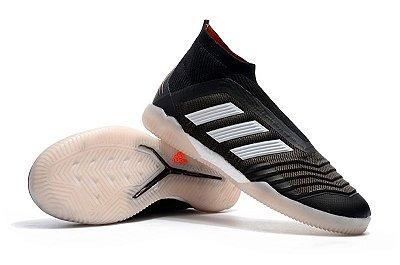 Chuteira Futsal Adidas Predator 18 Preta (Cano alto) FRETE GRÁTIS