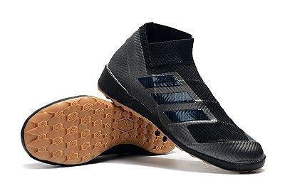 Chuteira Adidas Nemeziz Tango 18.3 Preta Futsal (Cano alto)