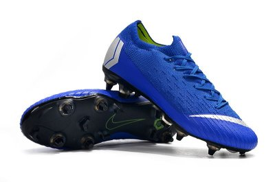 Chuteira Nike Mercurial Superfly VI Elite Azul Trava Mista Alumínio