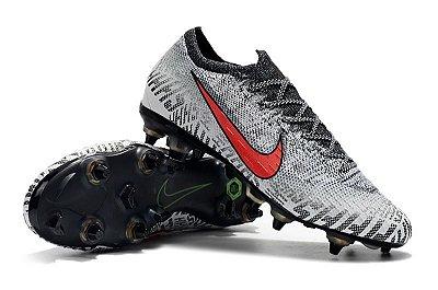 Chuteira Nike Mercurial Vapor 12 Elite Neymar Campo Trava Mista Alumínio FRETE GRÁTIS