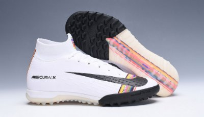 Chuteira Society Nike Mercurial Superfly 360 Level UP Branca
