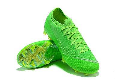 Chuteira Nike Mercurial Superfly VI 360 Elite FG Verde Flourescente