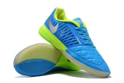 Chuteira Futsal Nike Lunar Gato II IC Azul/ Verde