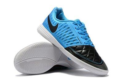 Chuteira Futsal Nike Lunar Gato II IC Azul/Preto