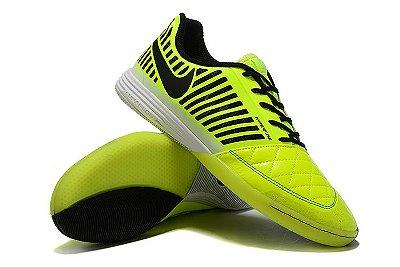 Chuteira Futsal Nike Lunar Gato II IC Verde/Preto FRETE GRÁTIS