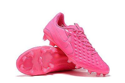 Chuteira Campo Nike Tiempo Legend 8 Elite FG Rosa
