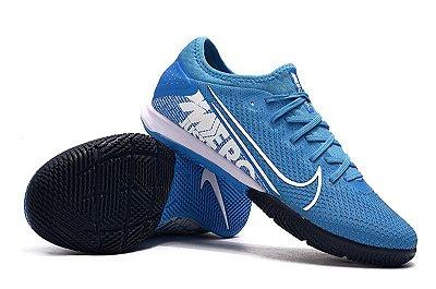 Chuteira Futsal Nike Mercurial Vapor 13 Pro IC Azul Bebê