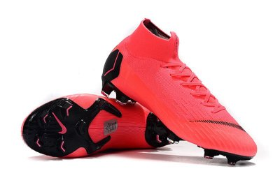 Chuteira Campo Nike Mercurial Superfly VI 360 Elite FG Rosa