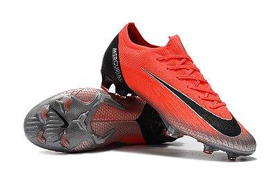 Chuteira Campo Nike Mercurial Vapor Fury VII Elite CR7 FG