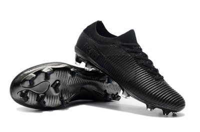 Chuteira Nike Mercurial Vapor Flyknit Ultra Rooney Campo FG Preta FRETE GRÁTIS