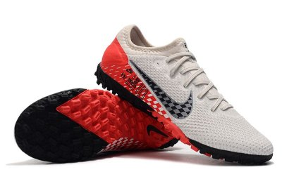 Chuteira Society Nike Mercurial Vapor 13 Pro TF Neymar Branca e Vermelho FRETE GRÁTIS