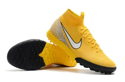 Chuteira Nike Mercurial SuperflyX 6 Neymar Elite TF Society Amarela FRETE GRÁTIS