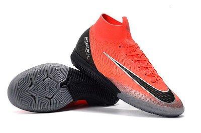 Chuteira Futsal Nike Mercurial Superfly VI Elite CR7 IC (cano alto) FRETE GRÁTIS