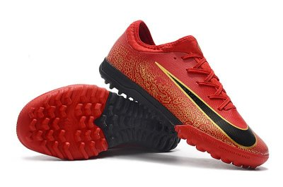 Chuteira Nike Mercurial VaporX VII Pro IC Society Dragon Vermelha FRETE GRÁTIS
