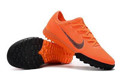 Chuteira Nike Mercurial VaporX VII Pro IC Society Laranja FRETE GRÁTIS