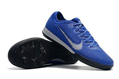 Chuteira Futsal Nike Mercurial VaporX VII Pro IC Azul e Cinza