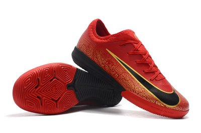 Chuteira Futsal Nike Mercurial VaporX VII Pro IC Dragon Vermelha