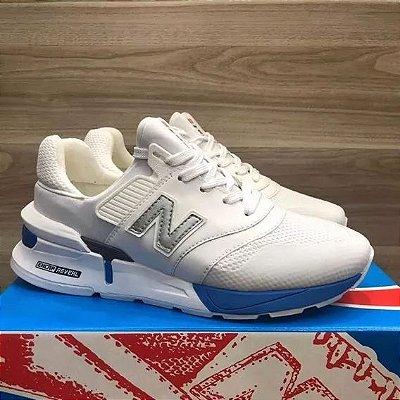Tênis New Balance 997S Branco e Azul Claro