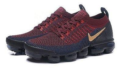Tênis Nike Vapormax 2.0 Barcelona Vermelho e Azul PRONTA ENTREGA