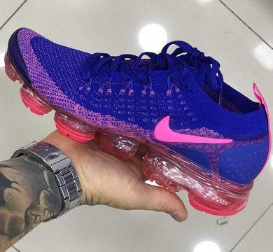 Tênis Nike Vapormax 2.0 Azul e Rosa PRONTA ENTREGA