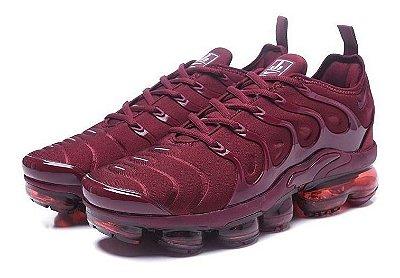Tênis Nike Vapormax Plus Vinho PRONTA ENTREGA