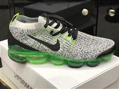 Tênis Nike Vapormax 3.0 Branco e Verde