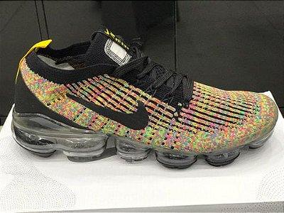 Tênis Nike Vapormax 3.0 Amarelo e Cinza
