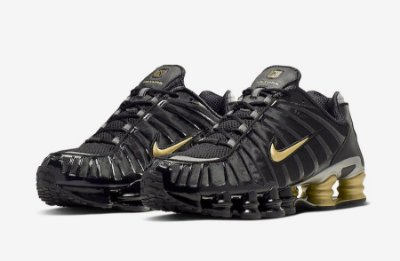 Tenis Nike Shox Tl 12 Molas Neymar Jr. Preto e Amarelo PRONTA ENTREGA