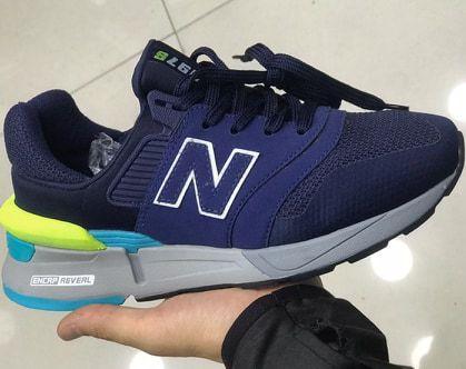 Tênis New Balance 997S Azul e Cinza